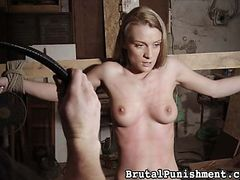 Brutal Punishment - No matter what is done to her...and plenty is...Nicole tries to keep a brave face
